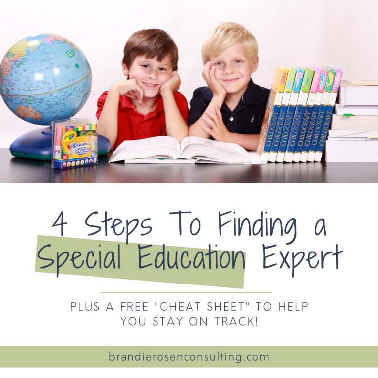 4 Steps To Successfully Find An Expert in Special Education