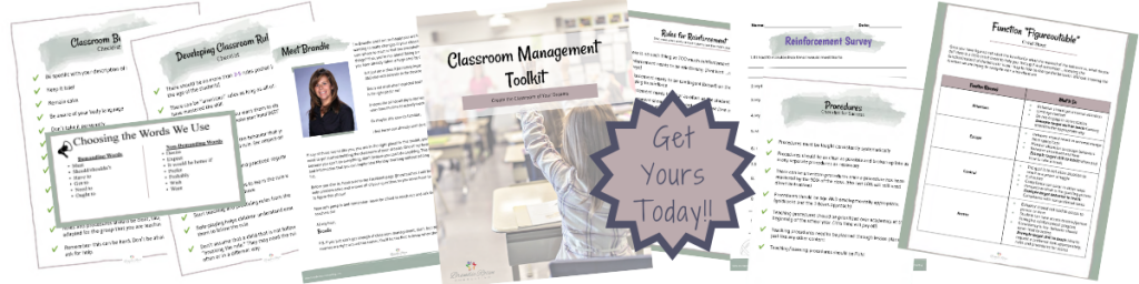 classroom management tolkit