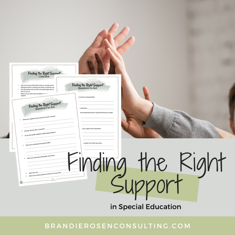 How to Find the Right Special Education Support