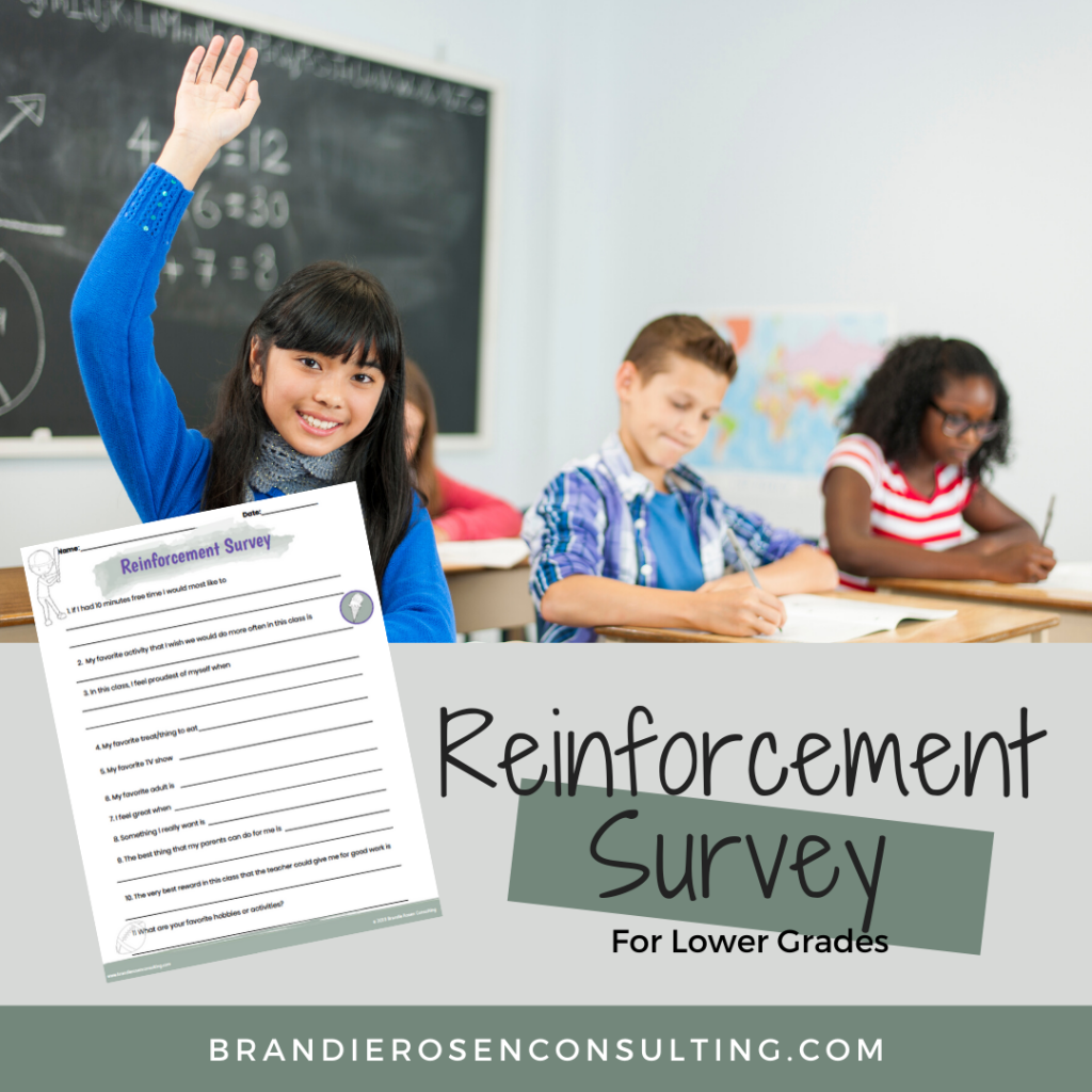 reinforcement surveys