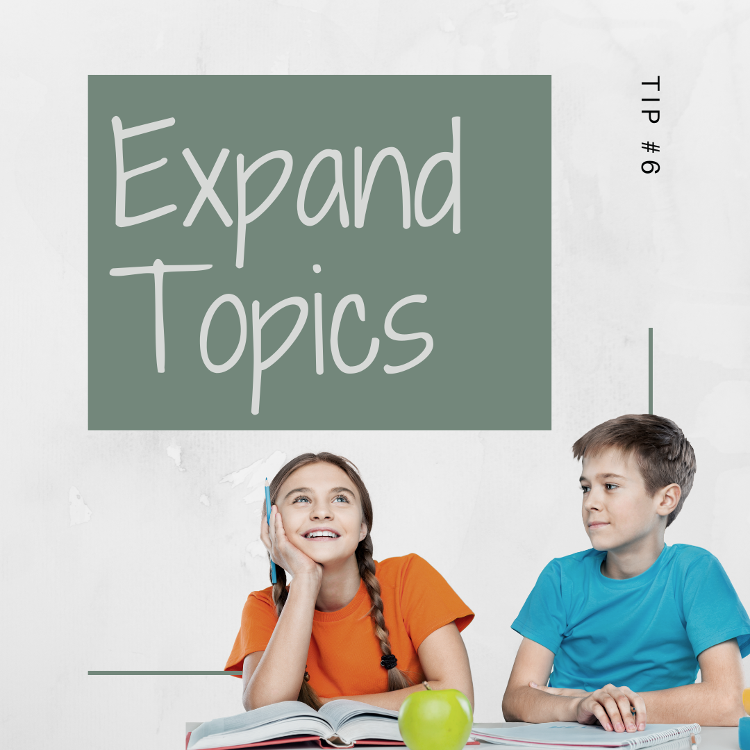 11 Days of Skills for Kids: Expanding Cool Topics