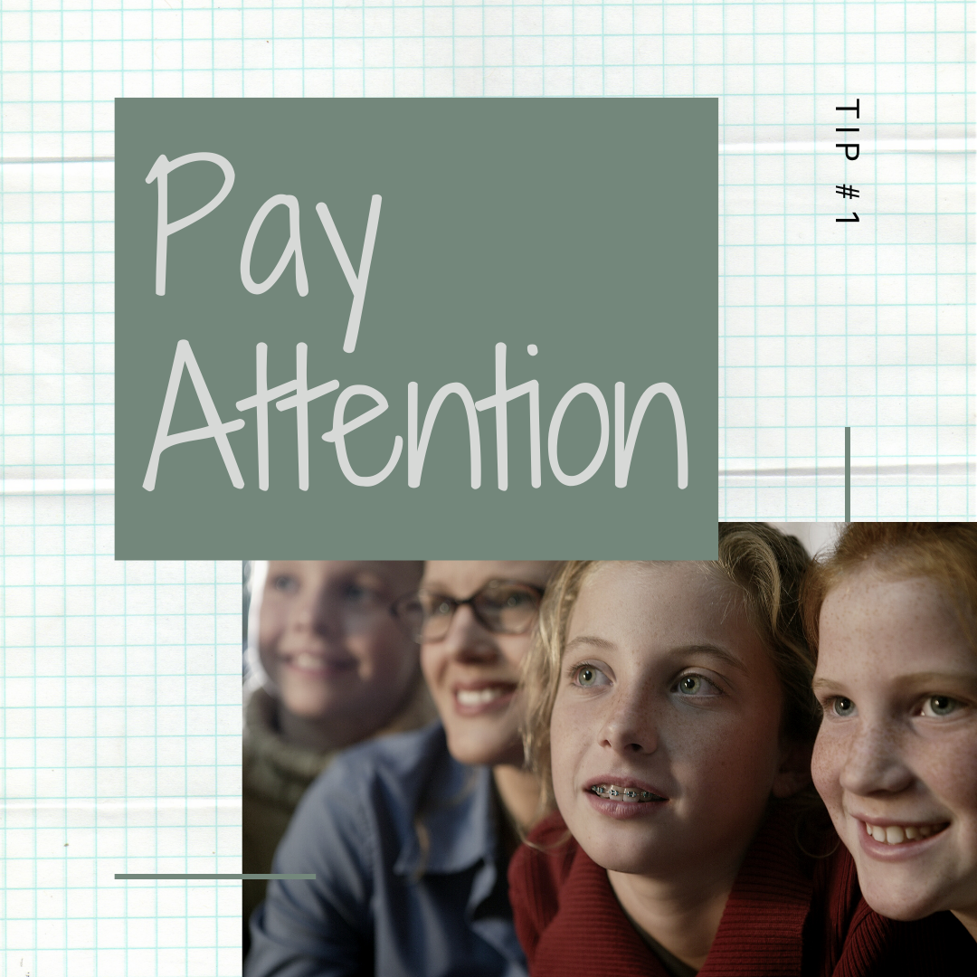 14 Days of Skills: Paying Attention