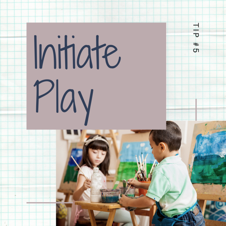 11 Days of Skills for Kids: Initiate Play