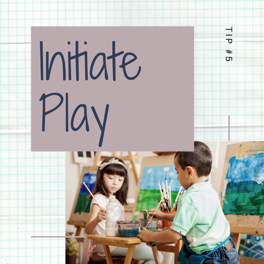 14 Days of Skills for Kids: Initiate Play