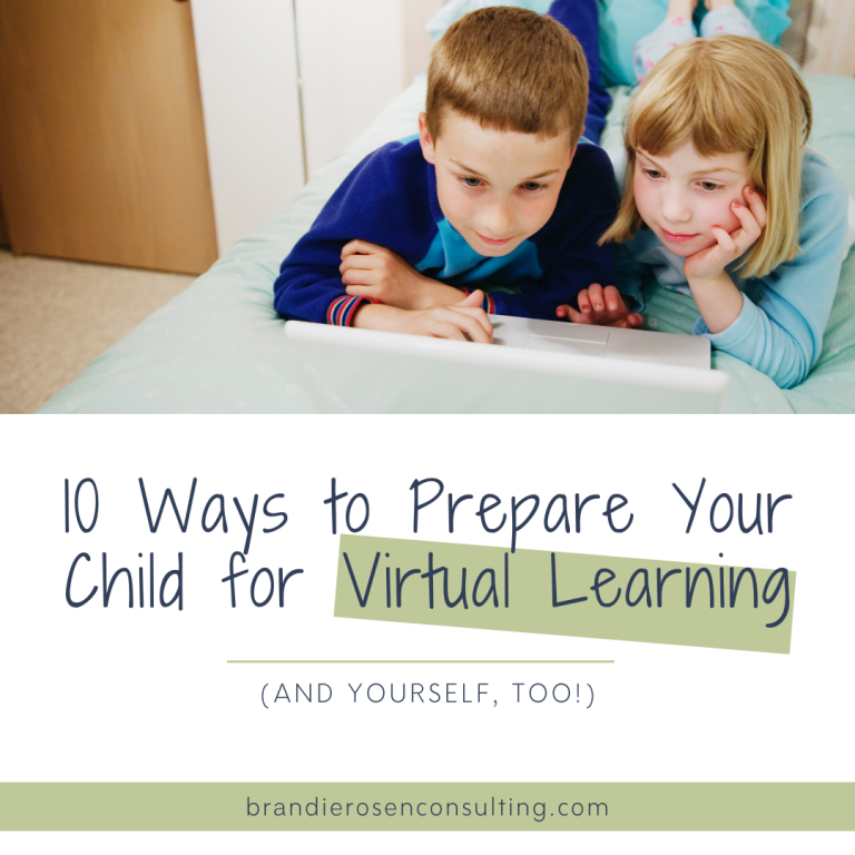 10 Things To Do To Prepare You (And Your Child) for Virtual Learning