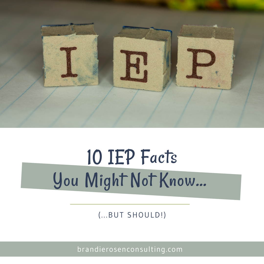 10 IEP Facts You Might Not Know (But Should!)