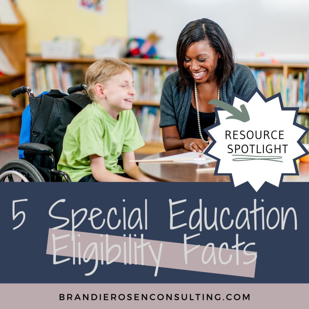 special education eligibility facts