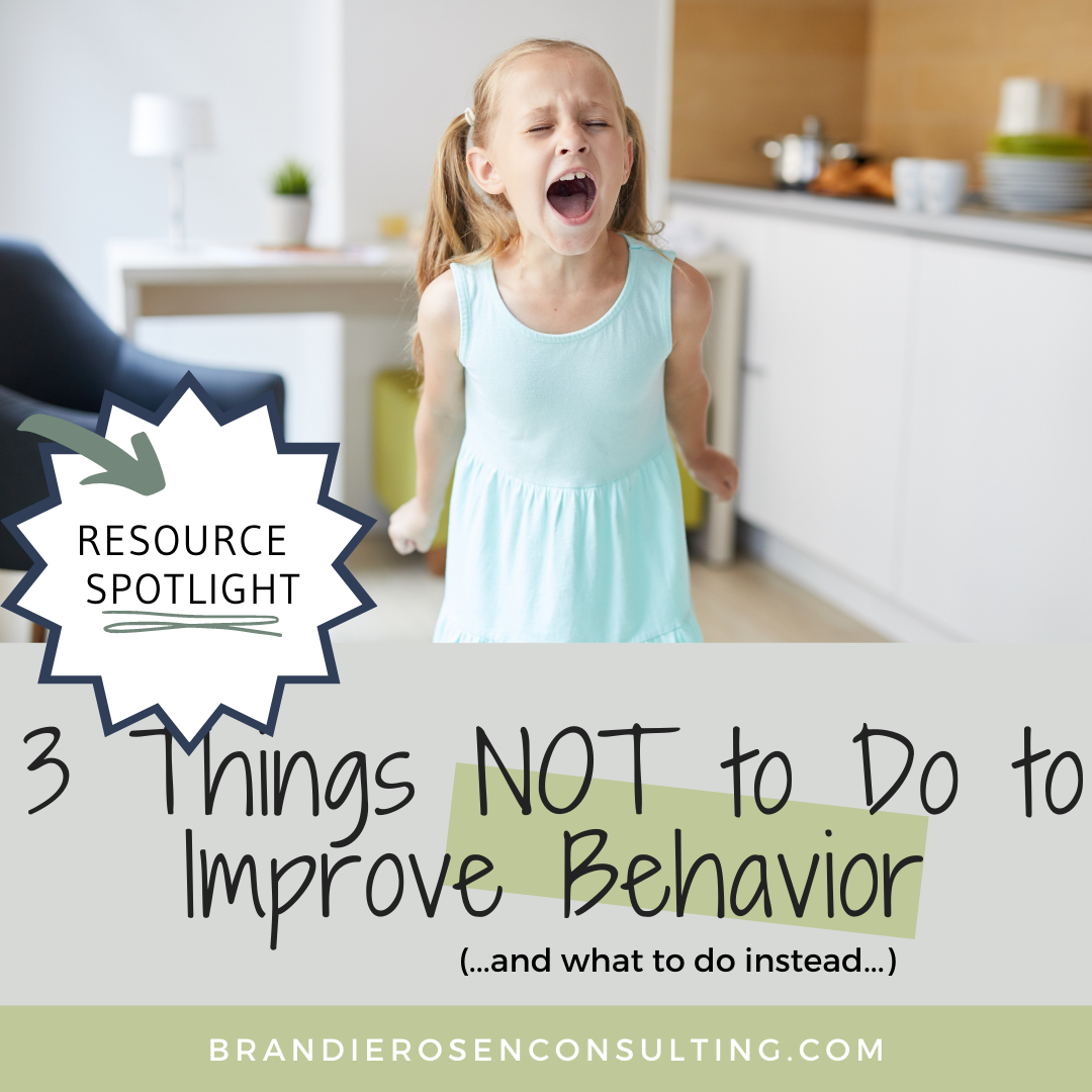 3 Things That Won't Improve Your Child's Behavior