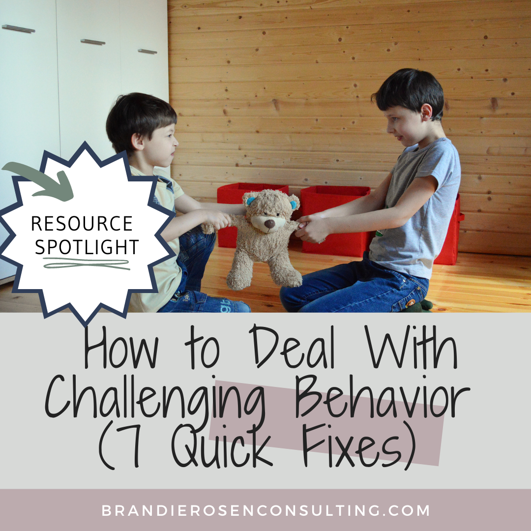 7 Quick Fixes to Help You Deal with Challenging Behavior (Without Using Punishment)