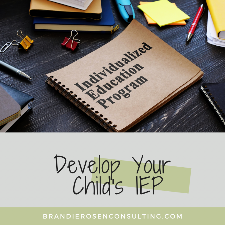 Develop Your Child's IEP